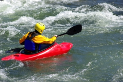 Kayak In The Whitewater